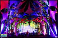 Electric Forest, a 4-day woodland, dance fantasy festival held every June in the idyllic wilds of Rothbury, Michigan. A walk amongst the trees reveals all manner of tucked-away magic, including surprise performances, interactive art displays and extravagant lights illuminating deep woods dance parties. If you delight in discoveries or serendipity, your meter will be off the charts at Electric Forest.