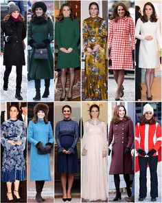 A recap of all the outfits worn by The Duchess during the Royal Tour of Sweden & Norway.