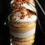 Simple Pumpkin Cheesecake Trifles | My Baking Addiction