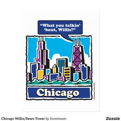 Chicago Willis/Sears Tower Postcard