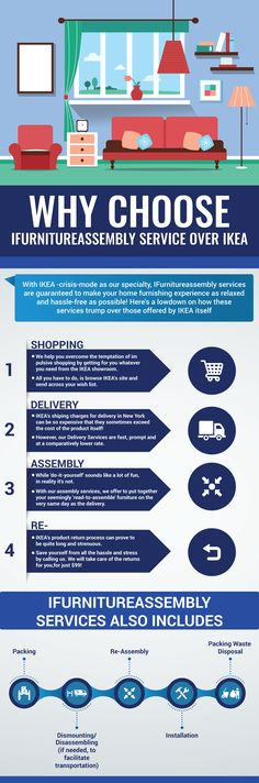 Ifurnitureassembly Services Guaranteed To Make Your Home Furnishing  Experience As Relaxed And Hassle Free As Possible · Ikea FurnitureHome ...