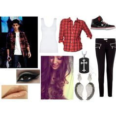 Zayn Malik from One Direction inspired outfit for girls