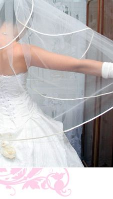 How to Measure and Cut a Veil, Make a DIY Veil Pattern ...