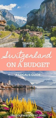 A local's guide on how to travel Switzerland on a budget. The best tips, food, and things to do in Switzerland on the cheap. europe destinations How to travel Switzerland on a budget Cheap Travel, Budget Travel, Travel Hacks, Cheap Places To Travel, Travel Vlog, Travel Checklist, Travel Channel, Travel Packing, Travel Tips