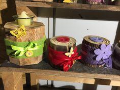 Kerzenhalter aus Holz