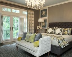 A Dream Master Bedroom- I like but might have trouble convincing the Mr.