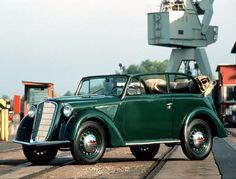 Photo: 1935 Opel Olympia. German quality.