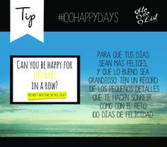 Tips super reto! #100happydays