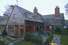 Massachusetts Oceanfront Home - traditional - exterior - boston - Frank Shirley Architects