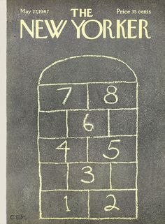 The New Yorker - Saturday, May 27, 1967 - Issue # 2206 - Vol. 43 - N° 14 - Cover by : Charles E. Martin