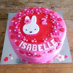 Nijntje taart meisje / Miffy Cake Girl