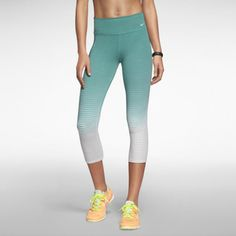 Nike Legend 2.0 Tight Fit Women's Training Capris-Teal, Pink,