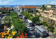 transpress nz: street traffic in Kingston, Jamaica, - Kingston Jamaica, Cultural Capital, Capital City, British Colonial Style, Vacation Deals, Caribbean Sea, Beautiful Places, Beautiful Scenery, Beautiful People