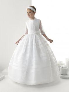 vestido comunión MN | primera comunión para niños | Pinterest ...
