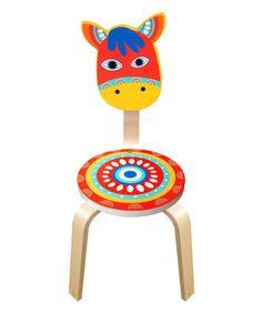 Another great find on #zulily! Horse Chair #zulilyfinds
