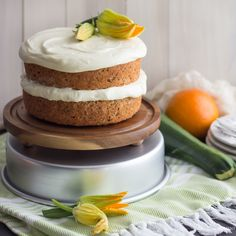 Zucchini Cake with Cream Cheese Frosting