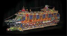 K'Nex Cruise Ship