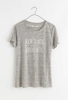 New York New York Linen T Madewell - Gift Guide - View All