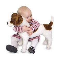 @Overstock - This sweet Jack Russel terrier from Melissa & Doug is ready to be your forever friend. The sweet stuffed pet features authentic markings and an adorable lifelike expression to bright your day.http://www.overstock.com/Sports-Toys/Melissa-Doug-Plush-Jack-Russell-Terrier-Stuffed-Animal/6382315/product.html?CID=214117 PLN              156.18