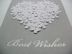 SALE Handmade Engagement/Wedding Card Bridal by GGgreetings More