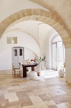 stunning home in puglia on apartment 34 Rustic Outdoor Decor, Mediterranean Style Homes, Mediterranean Architecture, Tuscan Design, Types Of Furniture, Carpet Flooring, Sweet Home, House Design, Interior Design