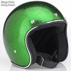 casque jet biltwell vert
