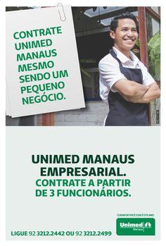 As empresas que têm a partir de 3 funcionários já podem contar com as vantagens do plano empresarial Unimed Manaus: • Valor do plano inferior aos planos de Pessoas Físicas • Contrato simplificado dando maior agilidade e reduzindo a burocracia • Ampla Rede de atendimento • Credibilidade da marca Unimed Manaus. Ligue 92 3212-2442 ou 92 3212-2499 ou acessehttp://unimed.vc/planosmanaus, saiba mais informações e faça seu plano.#unimedmanaus