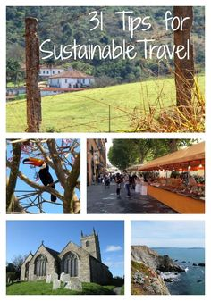 31 Tips for Sustainable Travel from This Is My Happiness travel blog #travel #sustainable