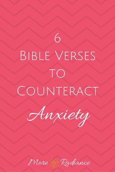 6 Bible Verses to Counteract Anxiety - fight stress, anxiety, overwhelm and fear with these six Scripture verses. Deal With Anxiety, Anxiety Tips, Stress And Anxiety, Anxiety Therapy, Health Anxiety, Anxiety Quotes, Anxiety Relief, Stress Relief, Weights