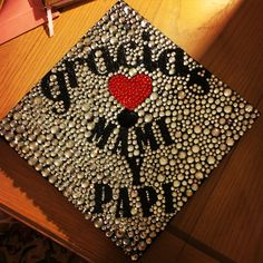 My Graduation Cap! It wouldn't be possible without my parents! Love you mom and dad! #graciasmamiypapi #thankyoumomanddad #sdsualumnitobe
