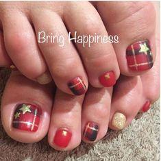 Αποτέλεσμα εικόνας για christmas foot nails