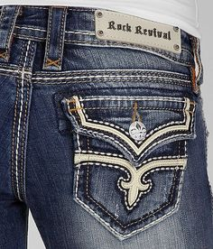 rock revival jeans!!(: