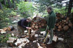 Evadare in salbaticie Firewood, Crafts, Travel, Woodburning, Manualidades, Viajes, Destinations, Handmade Crafts, Traveling