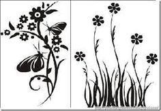Resultado de imagen para plantilla de flores para pintar
