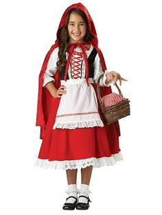 200+ Adorable Halloween Costumes For Your Trick-or-Treating Tot Little Red Riding Hood No big, bad wolves here, just an adorable take on an iconic fairy-tale character ($99, originally $110).