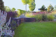 Planter Beds, Patio Planters, Garden Cottage, Home And Garden, Landscape Architecture, Landscape Design, Beautiful Flowers Garden, Nature Plants, Back Patio