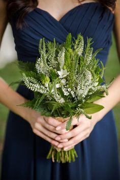 Natural Rustic Romance Bridesmaid Bouquet