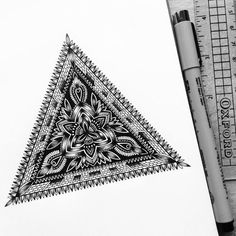 Currently browsing Artist Obsessed With Drawing Super Detailed Art for your design inspiration Mandala Art, Tattoo Geometrique, Paper Drawing, Art Graphique, Pen Art, Zentangle Patterns, Zentangles, Detail Art, Art Techniques