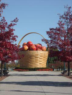 an actual basket at longaberger ~ ohio