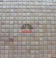 factory direct sale fashion style freshwater shell mosaic  tile white color mesh-joint seamless mosaics tiles  free shipping