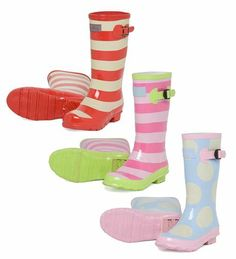 Hatley Pull-On Splash Boots for Girls