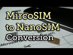 How to Convert a Micro SIM Card to Fit the Nano Slot on Your HTC One M8 « HTC One