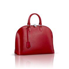 Louis Vuitton M4058E Epi Alma PM – Carmine