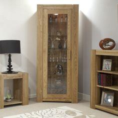 Trend Oak 1 Door Tall Bookcase https://www.tradepricefurniture.co.uk/trend-oak-1-door-tall-bookcase.html