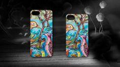 'Mirage' by Maria Richardson. #Mirage #Artwork #Acrylic #Birds #Australia #Outback #iPhone #Cases #Artmobilis