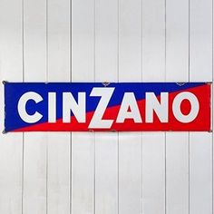 Large Cinzano Enamel Sign - The Hoarde