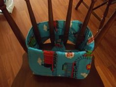 Travel High Chair by KimberleysCrafts on Etsy, $20