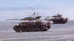Chilean M-60super Sherman tank