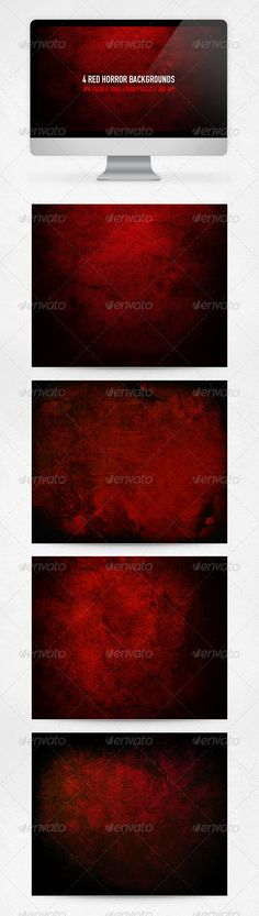Red Horror Backgrounds,background, black, concrete, cracks, flyer, grunge, halloween, high resolution, horror, poster, print, professional, red, stone, template, textures, underground, urban, wall, web
