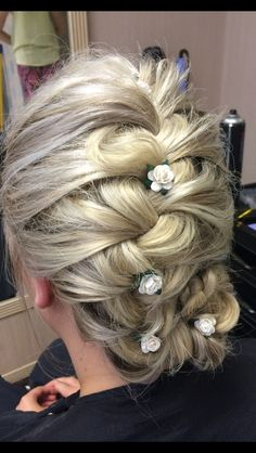 Hair up by me